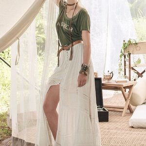 Spell Sienna Luxe Lace Maxi Skirt